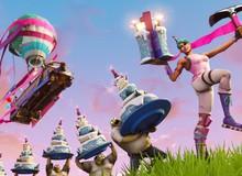 Fortnite tổ chức sinh nhật hoành tráng, tặng ngập trời quà cho game thủ