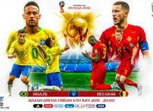 Dự đoán trận tứ kết Brazil vs Bỉ bằng FIFA Online 4: Quỷ đỏ dừng bước trước vũ điệu Samba ?