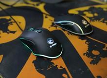 """EMS612BK và EMS610BK - Cặp đôi chuột gaming """"LED gầm"""" giá rẻ của E-DRA"""