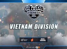 ROS Mobile Global Series: Faw, DrT, Fury Roads, Seal, F9 đại diện Việt Nam chinh phục đỉnh vinh quang thế giới