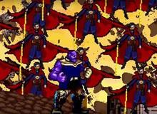 """Cuộc chiến với Thanos trong Infinity War được tái hiện lại dưới dạng trò chơi 16-Bit cực """"chất"""""""