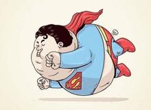 """Cười ra nước mắt với hình ảnh các nhân vật hoạt hình đình đám trở nên """"béo phì"""""""