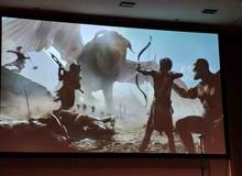 Lộ diện những hình ảnh đầu tiên về God of War phiên bản thần thoại Ai Cập