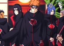Sắp xếp sức mạnh của các thành viên tổ chức khủng bố Akatsuki trong Naruto (Phần 2)