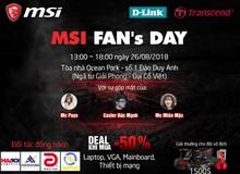 MSI tổ chức buổi offline cho game thủ mua PC giá siêu siêu rẻ