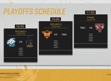 Lịch thi đấu vòng playoffs VCS mùa Hè 2018, ai sẽ lên ngôi vô địch và đến với CKTG 2018?