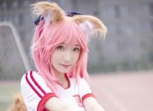 Cosplay Tamamo-no-Mae cực dễ thương, tan chảy trái tim game thủ
