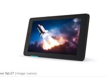 """Lenovo ra mắt một loạt các mẫu máy tính bảng Android giá siêu """"hạt dẻ,"""" có cái chưa đến 2 triệu đồng"""