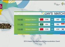 Đây là lý do khiến các trận đấu của đội tuyển LMHT Việt Nam tại Asian Games 2018 không được lên sóng truyền hình?