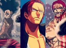 """Các tầng sức mạnh """"bá đạo"""" khác nhau của mỗi loại Haki trong One Piece"""