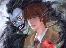 Mãn nhãn khi chiêm ngưỡng bộ fanart tuyệt đẹp lấy cảm hứng từ các nhân vật trong series Death Note