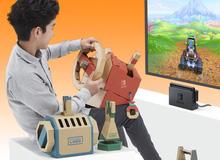 Bộ đua xa 'bằng giấy' của Nintendo Labo, trông rất dễ thương, chơi game cực ngon mượt