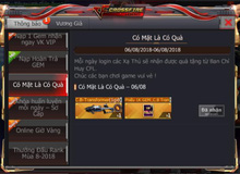 CFL: Nhận ngay CrossBow Transformer khi đăng nhập hôm nay