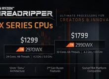 Đã có điểm benchmark của Ryzen Threadripper 2990WX 32 nhân: Vả 'gãy răng' Core i9-7980XE 18 nhân