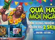 Hướng dẫn game thủ nhận 2 trang phục miễn phí mừng sinh nhật LMHT Việt Nam tròn 6 tuổi