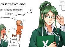 """Ngạc nhiên trước những hình ảnh các phần mềm """"khô khan"""" được nhân cách hóa thành trai xinh gái đẹp trong Anime"""