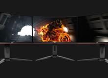 AOC ra mắt dòng màn hình cong chơi game G1 Series mới - Đường cong sexy đầy lôi cuốn