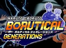 Naruto X Boruto: Borutical Generations - Game online 'chính chủ' mới được giới thiệu, đánh đấm cực phê
