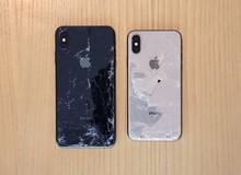 iPhone XS/XS Max chống nước, chống bia cực tốt nhưng vẫn mong manh, dễ vỡ