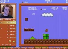 """Game thủ lập kỷ lục thế giới nhờ """"phá đảo"""" Super Mario Bros. trong chưa đầy 5 phút"""