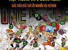 Giả thuyết One Piece 919: Phải chăng vợ của Oden đã dự đoán sự xuất hiện của Băng Mũ Rơm tại Wano Quốc cách đây... 20 năm?