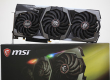 Đập hộp cặp đôi Gaming X Trio RTX 2080 và RTX 2080 Ti của MSI: To, nạc, mạnh mẽ