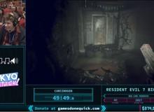 Thán phục game thủ phá đảo Resident Evil 7 độ khó cao nhất như một trò đùa, chưa đầy 2 tiếng đã hoàn thành game