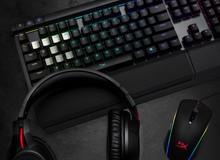 HyperX hé lộ tai nghe không dây đầu tiên và bộ thiết bị thi đấu game RGB mới