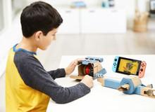 """Thật bất ngờ Nintendo Switch cạnh tranh với cả Lego, tung ra bộ đồ chơi """"robot"""" bìa carton ai cũng thèm muốn"""