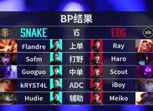 Bán Kết Demacia Cup: Snake của SofM đại bại trước một EDG quá mạnh và hung hãn