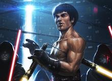 Góc giải trí: Sẽ thế nào nếu võ công tuyệt đỉnh của Lý Tiểu Long kết hợp với chiếc côn nhị khúc Lightsaber phiên bản Star Wars?