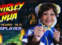 """Coser """"lão thành"""" có tâm nhất quả đất: 70 tuổi vẫn tập tạ để đóng vai Chun Li trong Street Fighter"""