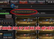 Đột Kích lại xuất hiện thêm đại gia thứ 2 sở hữu hơn 200 vật phẩm VIP