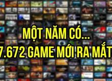 Tiết lộ con số gây sốc: 7.672 game đã ra mắt trên Steam chỉ trong năm 2017 vừa rồi