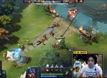 Tượng đài LMHT Việt - QTV phô diễn kỹ năng chơi Dota 2 trên Stream khiến cộng đồng game thủ không tiếc lời khen ngợi