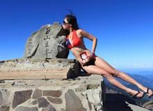 """Cô gái nổi danh """"nữ hoàng bikini leo núi"""" đã chết cóng vì lạnh"""