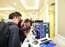 Ngắm loạt PC đẹp ngất ngây của game thủ Hà Thành mới tham dự offline độ case The Beauty Of X Power