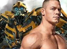 """Để có được vai diễn thành công trong Bumblebee, đây chính là cao nhân bí ẩn đã cho """"người tàng hình"""" John Cena lời khuyên chí lý"""