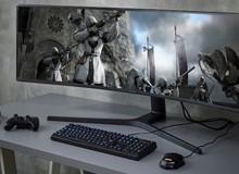 Samsung ra mắt màn hình chơi game CRG9 to khổng lồ mới: 49 inch cong, 120Hz, độ phân giải 5K mịn màng