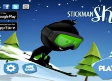 Stickman Ski - Game mobile đỉnh cao của sự đơn giản