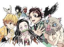Chia tay anime Kimetsu no Yaiba bằng bộ ảnh theo phong cách chibi đón Halloween cực vui nhộn