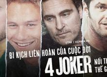 Lời nguyền cuộc đời '4 Joker nổi tiếng thế giới': Kẻ gặp bi kịch y như phim, người tìm đến cái chết vì vai diễn