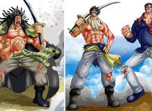 One Piece: Mối quan hệ thật sự giữa hải tặc huyền thoại Rocks D. Xebec và anh hùng hải quân Monkey D. Garp?