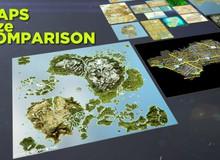 Choáng ngợp bởi diện tích bản đồ của video game, dù bạn có chơi cả đời cũng chưa chắc khám phá hết