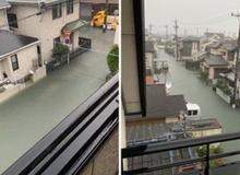 Cộng đồng mạng sửng sốt vì hình ảnh Nhật Bản ngập trong nước lũ vẫn sạch bong, không một cọng rác