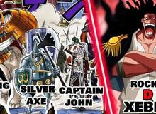 """One Piece: Truy tìm tung tích những """"tàn dư"""" của băng hải tặc huyền thoại Rocks?"""