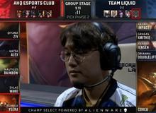 LMHT: Team Liquid thêm một lần chết hụt khi không cấm Rumble vì CoreJJ không tìm ra vị tướng này