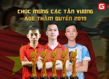 Việt Nam thâu tóm toàn bộ 5 chức vô địch giải AoE Trung Việt, riêng Chim Sẻ đã có 4 cup