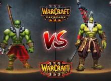 Hé lộ tạo hình heroes và kỹ năng trong Warcraft III phiên bản làm lại 4K