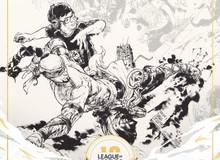 SofM là người Việt Nam duy nhất xuất hiện trong bức tranh kỉ niệm 10 năm LMHT Riot Games với tướng tủ Lee Sin